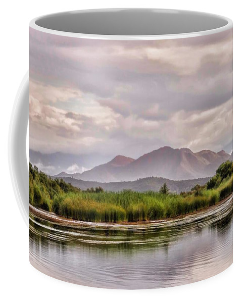 River Coffee Mug featuring the photograph Salt River by Robin O'Donnell