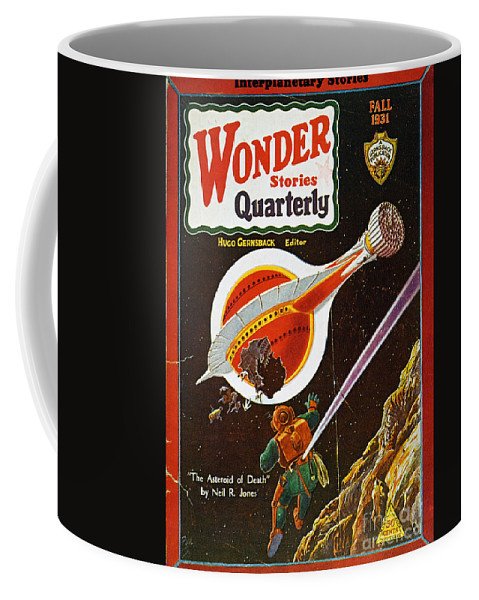 1931 Coffee Mug featuring the photograph Sci-fi Magazine Cover, 1931 by Granger