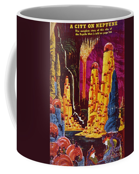1941 Coffee Mug featuring the photograph Science Fiction Magazine by Granger