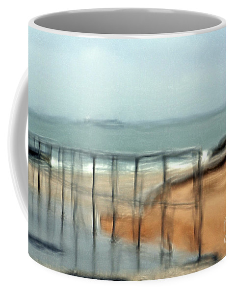 Storm Coffee Mug featuring the photograph Stormy Seas by Vladi Alon