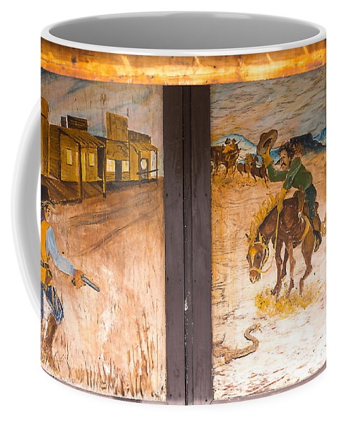 Art Coffee Mug featuring the photograph Street Art - Melba, ID by Dart and Suze Humeston