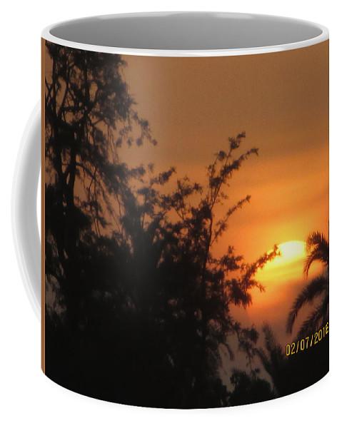 A Beautiful Sunset View Coffee Mug featuring the photograph Sun View by Rajesh Kumawat