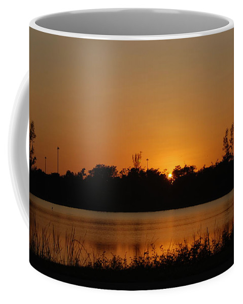 Nature Coffee Mug featuring the photograph Sunset On The Edge by Rob Hans