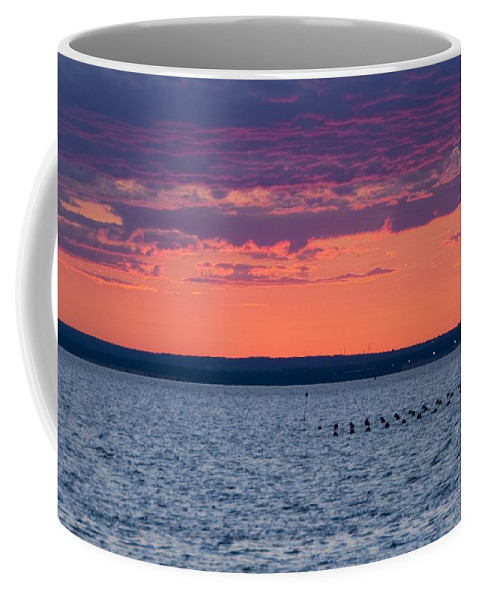 Sunset Coffee Mug featuring the photograph Sunset by Steven Natanson