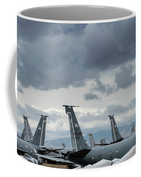 Tails Of Retired Air Force Planes In Tucson Coffee Mug