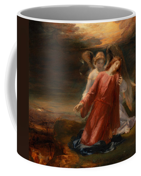 George Richmond Coffee Mug featuring the painting The Agony In The Garden by George Richmond