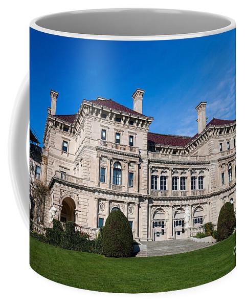 Travel Coffee Mug featuring the photograph The Breakers Newport Rhode Island by Jason O Watson