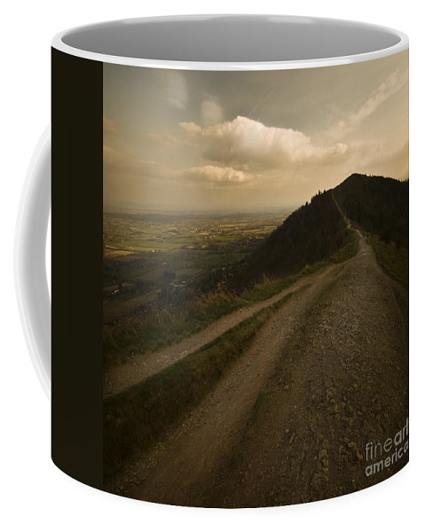 Malvern Hills Coffee Mug featuring the photograph The Malvern Hills by Angel Ciesniarska