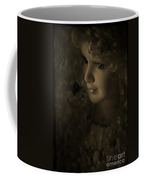 Toy Coffee Mug featuring the photograph The Toy Story by Angel Ciesniarska