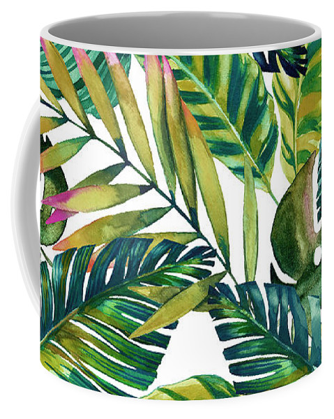 Summer Coffee Mug featuring the photograph Tropical by Mark Ashkenazi
