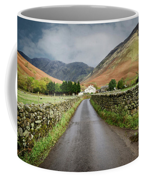 Wasdale Head Coffee Mug featuring the photograph Wasdale Head by Smart Aviation