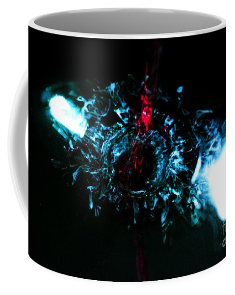 Coffee Mug featuring the photograph Water Art by Gerald Kloss