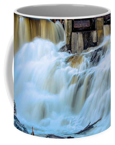 Waterfall Coffee Mug featuring the photograph Waterfall Series by Sherman Perry