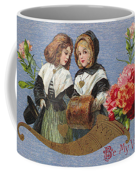 1913 Coffee Mug featuring the photograph Valentines Day Card by Granger