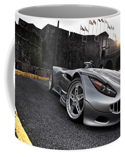 2009 Veritas Rs Iii Sports Car Coffee Mug featuring the digital art 2009 Veritas Rs III Sports Car by Maye Loeser