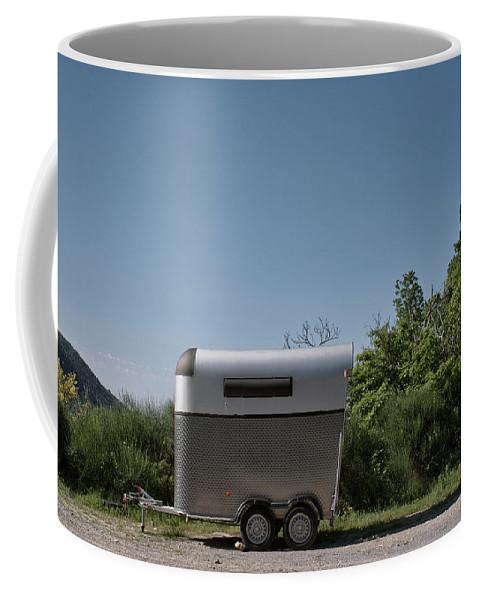 Liguria Coffee Mug featuring the photograph 2016 Cavalli by Roberto Ferrero