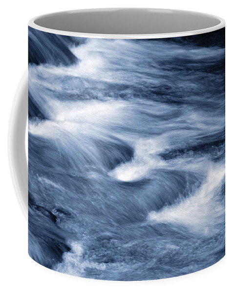 Flow Coffee Mug featuring the photograph Stream by Les Cunliffe