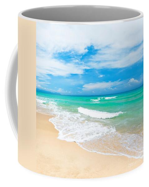 Beach Coffee Mug featuring the photograph Beach by MotHaiBaPhoto Prints