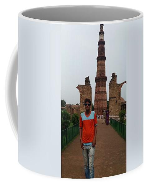 Harpal Singh Jadon Coffee Mug featuring the pyrography Harpal Singh Jadon by Harpal Singh JAdon Harpal Singh JAdon