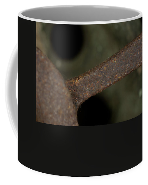 Macro Coffee Mug featuring the photograph Macro Of Everyday Object by Diane Schuler