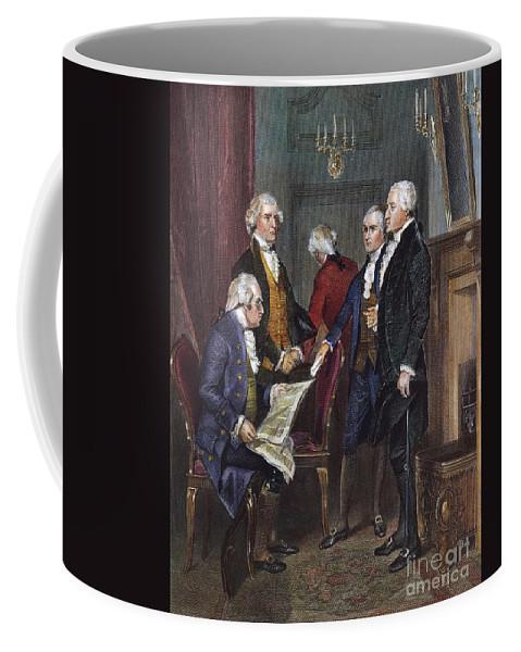 1790s Coffee Mug featuring the photograph George Washington by Granger
