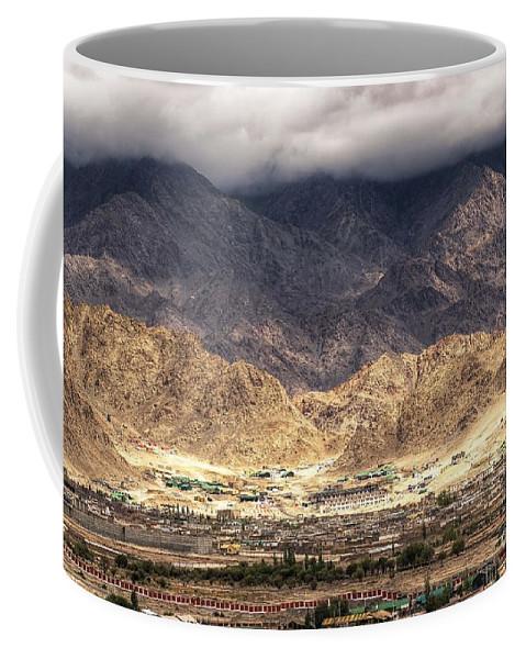 Peak Coffee Mug featuring the photograph Landscape Of Ladakh Jammu And Kashmir India by Rudra Narayan Mitra