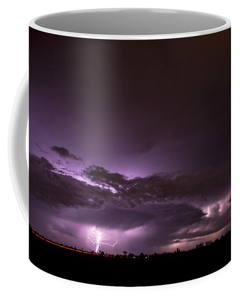 Nebraskasc Coffee Mug featuring the photograph 6th Storm Chase 2015 by NebraskaSC