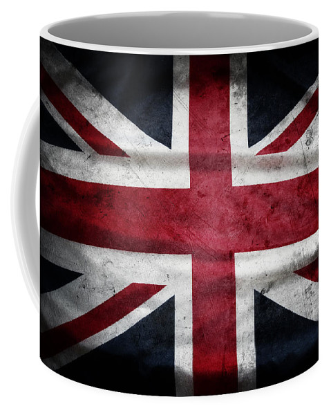 Flag Coffee Mug featuring the photograph British Flag 32 by Les Cunliffe