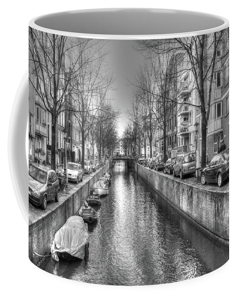 Amsterdam Coffee Mug featuring the digital art 279 by Mark Brooks