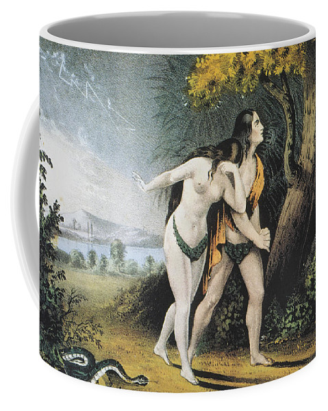 Adam Coffee Mug featuring the photograph Adam And Eve by Granger