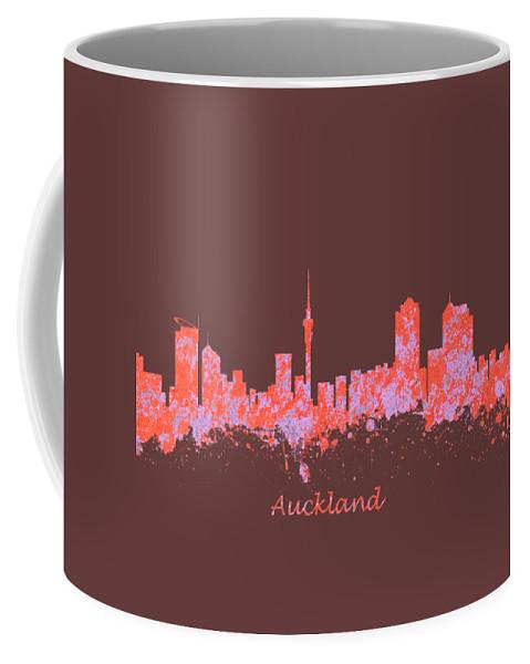 Auckland Coffee Mug featuring the photograph Auckland New Zealand Skyline by Chris Smith