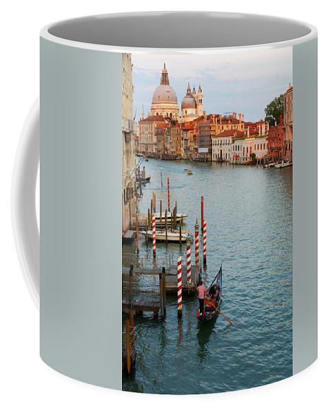 Venice Coffee Mug featuring the photograph Basilica Di Santa Maria Della Salute, Venice, Italy by Bruce Beck