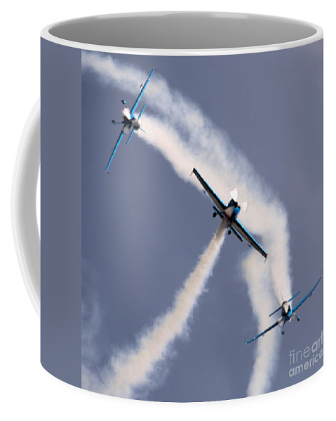 Coffee Mug featuring the photograph Blades by Angel Ciesniarska