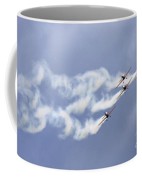Blades Extra 300 Coffee Mug featuring the photograph Blades by Angel Ciesniarska