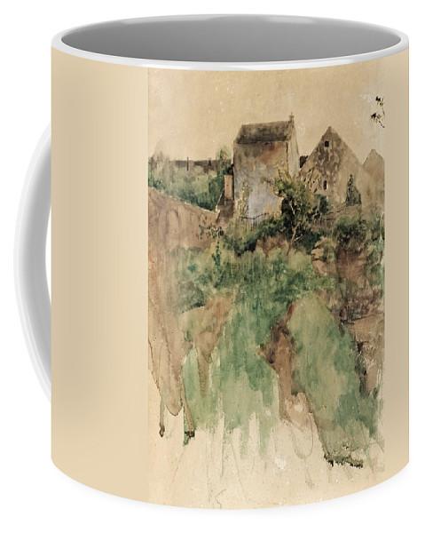 Bruno Liljefors Coffee Mug featuring the digital art Bruno Liljefors by Mark Carlson