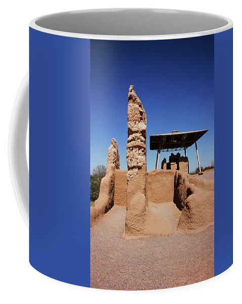 Abandoned Coffee Mug featuring the photograph Casa Grande Ruins by Paul Moore