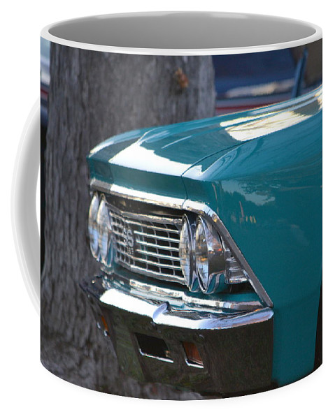 Coffee Mug featuring the photograph Chevy by Dean Ferreira