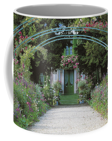 Giverny Coffee Mug featuring the photograph Claude Monet's Garden At Giverny by French School