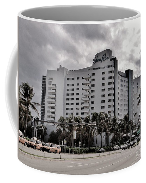 Famous Hotel Coffee Mug featuring the photograph Eden Roc Hotel by Rene Triay Photography