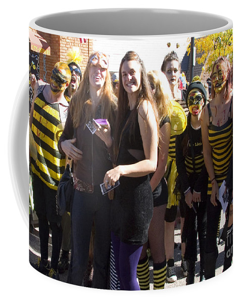 Halloween Coffee Mug featuring the photograph Emma Crawford Coffin Races In Manitou Springs Colorado by Steve Krull