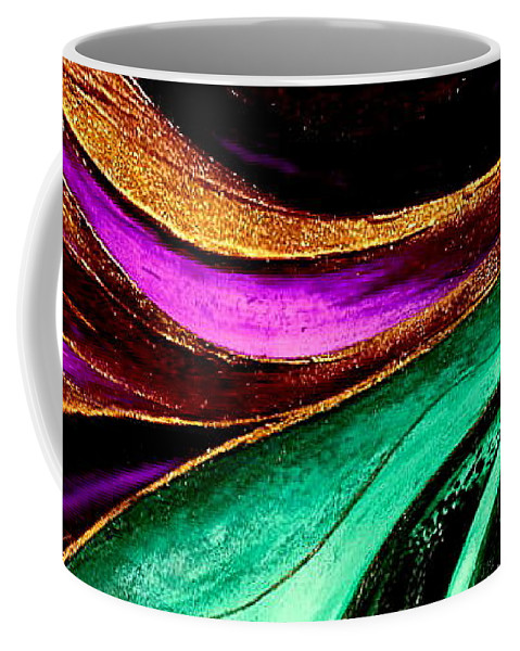 Energy Coffee Mug featuring the painting Energy by Kumiko Mayer