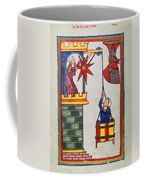 14th Century Coffee Mug featuring the photograph HEIDELBERG LIEDER, 14th C by Granger