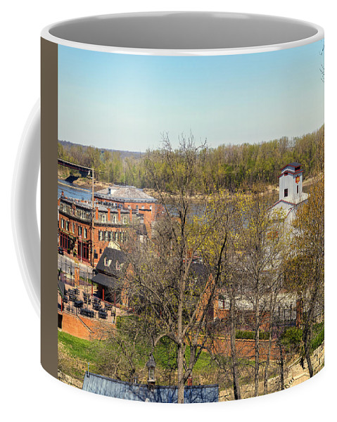 Hermann Coffee Mug featuring the photograph 3-hermann Mo Triptych Right_dsc3992 by Greg Kluempers