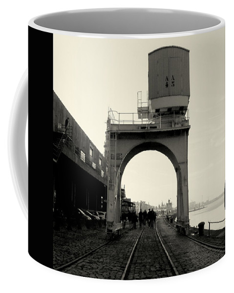 Industrial Photography Coffee Mug featuring the photograph Industrial by RONALD Duverge