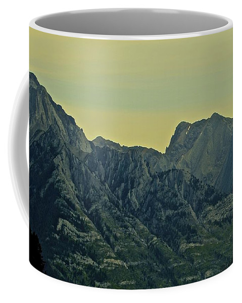 Mountain Coffee Mug featuring the photograph Mountain by Leanne Matson