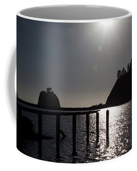 Reflection Coffee Mug featuring the photograph Olympic Peninsula Coast by Avril Christophe
