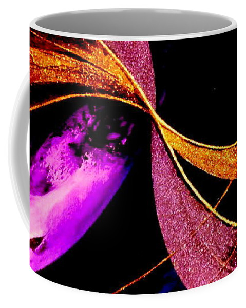 Oneness Coffee Mug featuring the painting Oneness by Kumiko Mayer