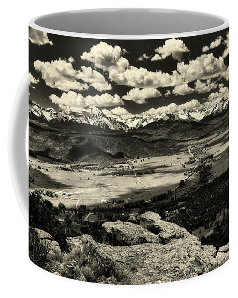 Pleasant Valley Coffee Mug featuring the photograph Pleasant Valley Colorado by Mountain Dreams