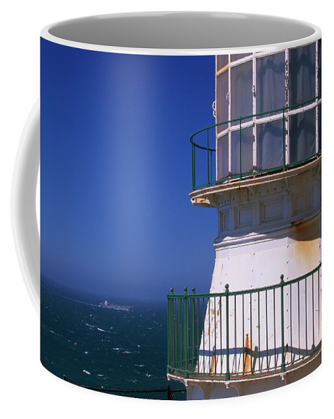 Point Reyes Lighthouse Coffee Mug featuring the photograph Point Reyes Lighthouse by Soli Deo Gloria Wilderness And Wildlife Photography