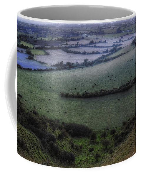 Roundway Hill Coffee Mug featuring the photograph Roundway Hill - England by Joana Kruse